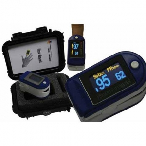FINGER TIP PULSE OXIMETER - Click for more info