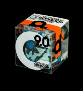 D3 Cohesive Bandage Camo Blue 7.5cm x 9m - Click for more info