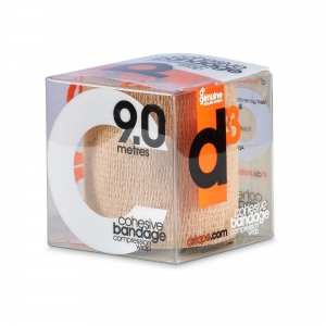 D3 Cohesive Bandage Beige 7.5cm x 9m - Click for more info