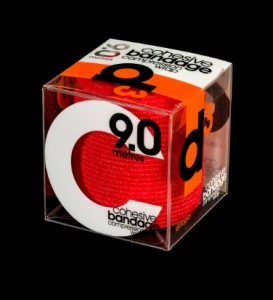 D3 Cohesive Bandage Red 7.5cm x 9m - Click for more info