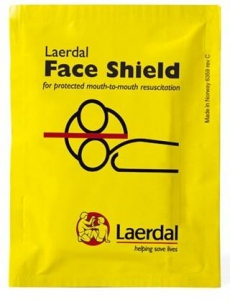 LAERDAL FACE SHIELD - Click for more info