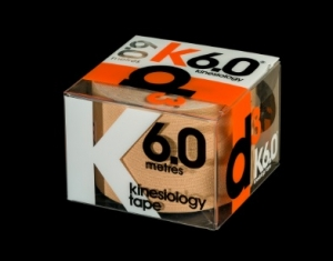 D3 KINESIO TAPE 50MM X 6M Beige - Click for more info