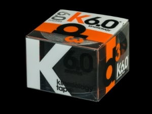 D3 KINESIO TAPE 50MM X 6M Black - Click for more info