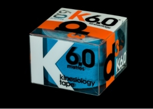 D3 Kinesio Tape Electric 50mm x 6m - Click for more info