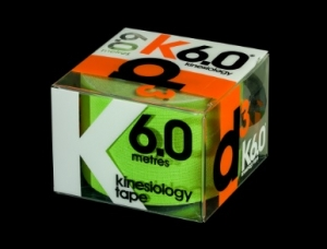 D3 Kinesio Tape Lime 50mm x 6m - Click for more info