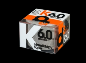 D3 KINESIO TAPE 50MM X 6M Silver - Click for more info