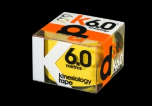 D3 Kinesio Tape Yellow 50m x 6m - Click for more info