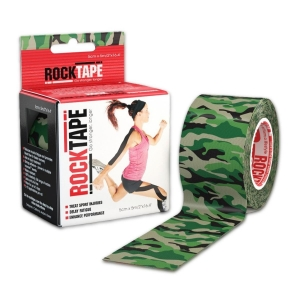 Rocktape Camo Green 5cm x 5m - Click for more info