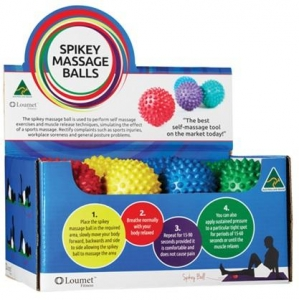 Massage Ball Spikey Retail Pack  - Pack 24