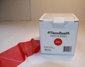 THERABAND - 150ft (T2655 Red - Medium)