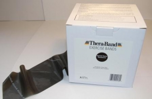 THERABAND - 150ft (T2658 Black - Special Heavy)