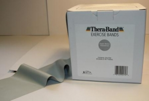 THERABAND - 150ft (T2659 Silver (Grey) - Super Heavy)