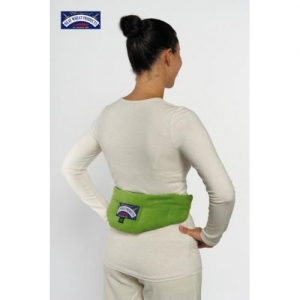 HEAT WHEAT NECK & BACK THERAPY WRAP - Click for more info