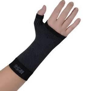 Orthosleeve WRIST SLEEVE Black Medium - Click for more info